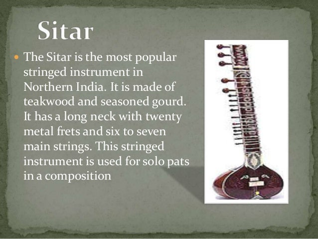musical instruments of india The gottuvadyam does not appear to be very old inventions of musical instruments during 18-19th centuries in india musical instruments of the indian subcontinent.