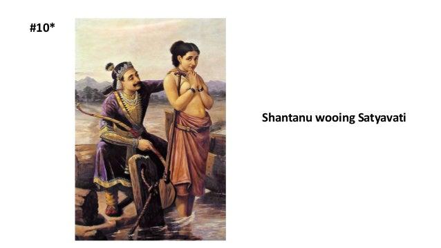 #10* Shantanu wooing Satyavati