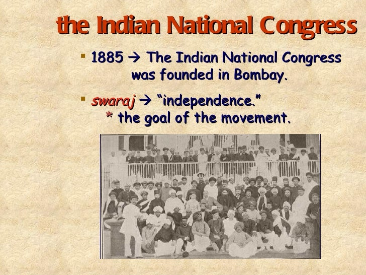 formation of indian national congress He entered parliament in 1893 as a liberal member and sought to voice india's  grievances in the house he formed the indian parliamentary committee with.