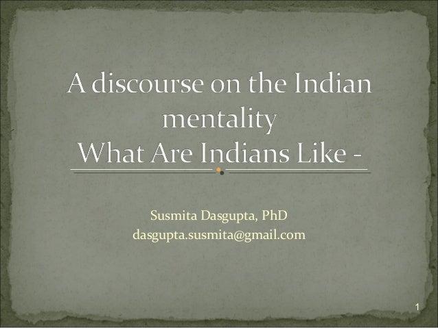 Susmita Dasgupta, PhD dasgupta.susmita@gmail.com 1