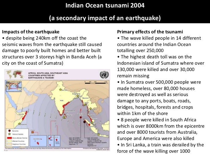 effects of tsunami essay Cause and effect tsunamis essay info: 1414 words what exactly are tsunamis tsunamis are immensely strong, long length and long period sea waves.