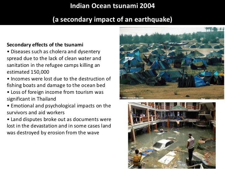 case study effect of 2004 tsunami When the indian ocean tsunami struck, 10 years ago today, it was one of the   despite this, the effects of the disaster continue to be felt.