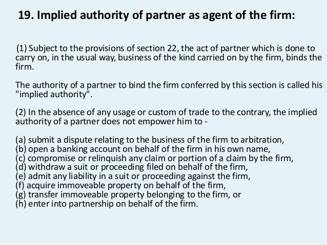 Indian partnership act 1932 Slide 3