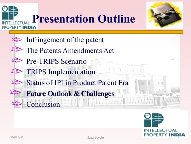 indian patent act There has been considerable press regarding the decision by the indian supreme court in april, 2013, rejecting novartis' patent application for the beta-crystalline form of imatinib mesylate.