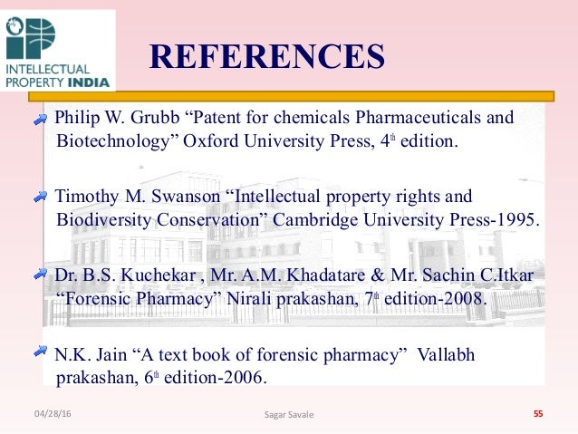 Cambridge University Intellectual Property Book