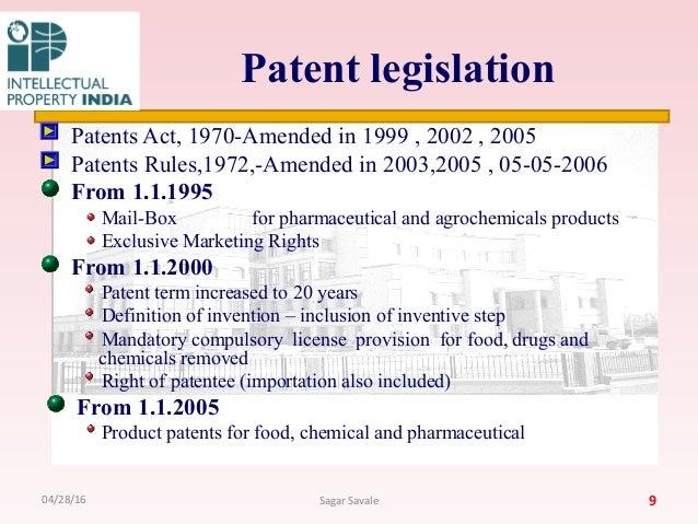 patent legislation