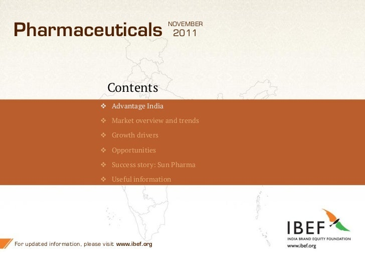 history of indian pharma industry The indian pharmaceutical industry is a successful, high-technology-based  industry that has witnessed consistent growth over the past three decades the.
