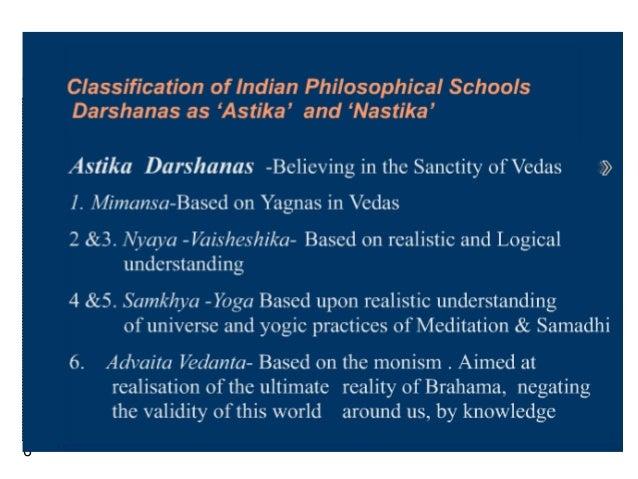 common characteristics of indian philosophy
