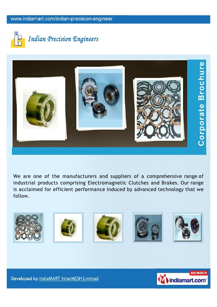 We are one of the manufacturers and suppliers of a comprehensive range ofindustrial products comprising Electromagnetic Cl...