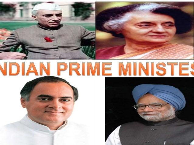 INDIAN PRIMEMINISTERS