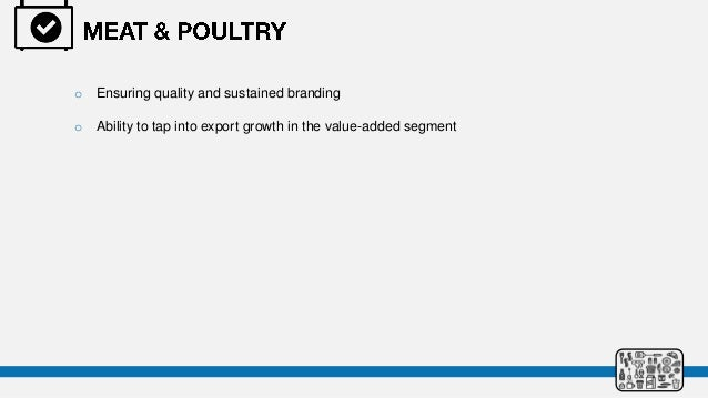Indian processed food industry analysis for Porter 5 forces reference