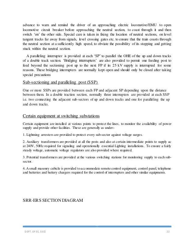 indian railway training report