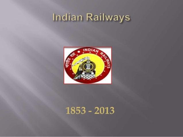 1853 - 2013