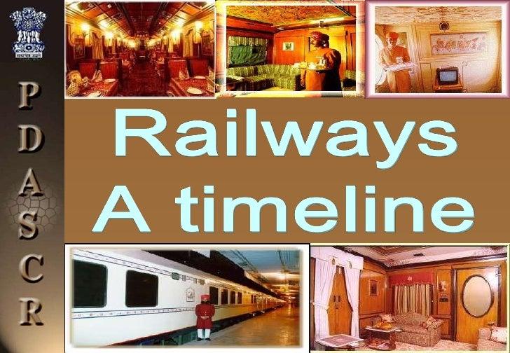Railways<br />A timeline<br />