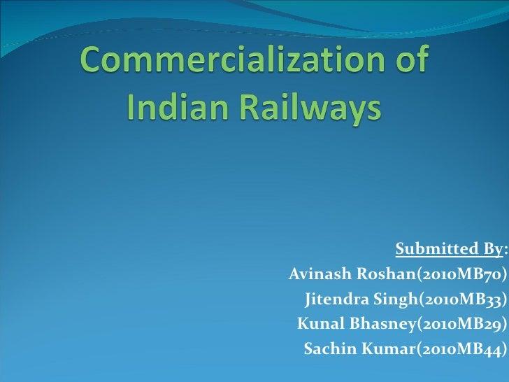 Submitted By : Avinash Roshan(2010MB70) Jitendra Singh(2010MB33) Kunal Bhasney(2010MB29) Sachin Kumar(2010MB44)