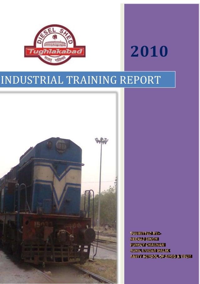 2010 INDUSTRIAL TRAINING REPORT