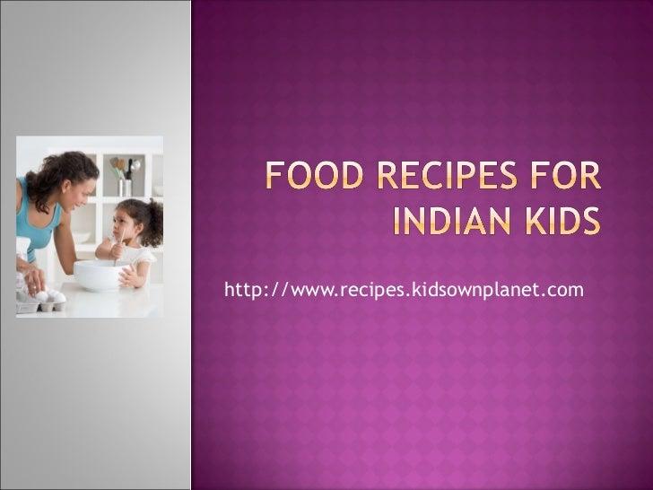 http://www.recipes.kidsownplanet.com