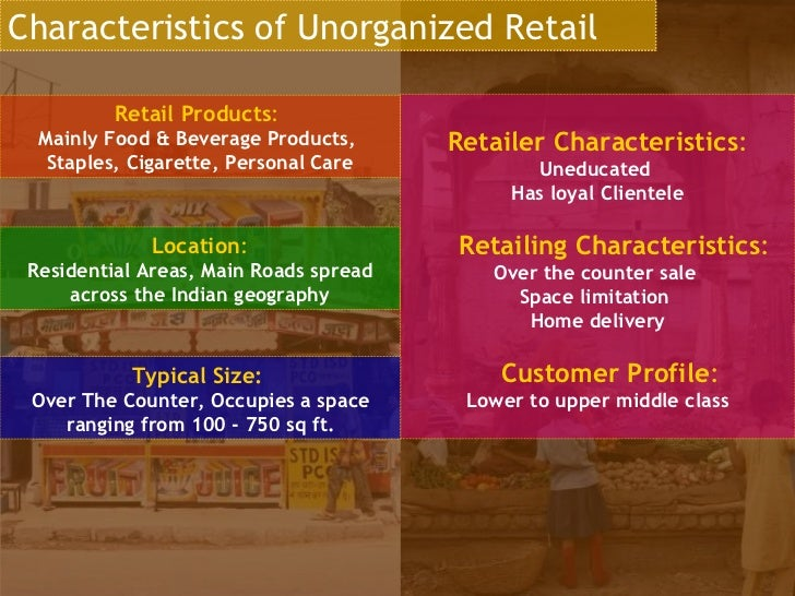 retail services characteristics Retail and wholesale trade services in canada (the economics of the service sector in  characteristics of retail and wholesale sales / 12 retail sales /12.
