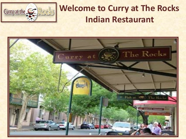 Welcome to Curry at The Rocks Indian Restaurant