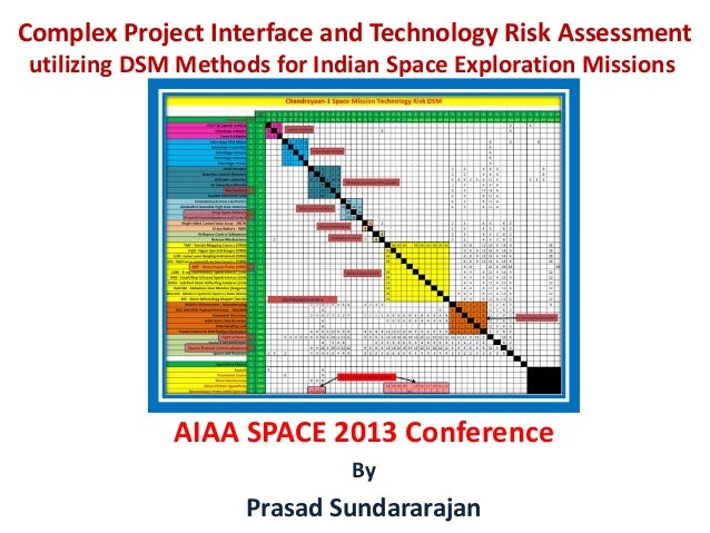 Complex Project Interface and Technology Risk Assessment utilizing DSM Methods for Indian Space Exploration Missions  AIAA...