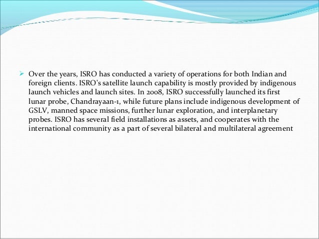 essay on indian space research organisation About isro business with isro work with isro vision and mission in thiruvananthapuram for upper atmospheric research indian space research organisation.