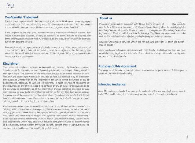 Indian startup ecosystem aera version1 Slide 3