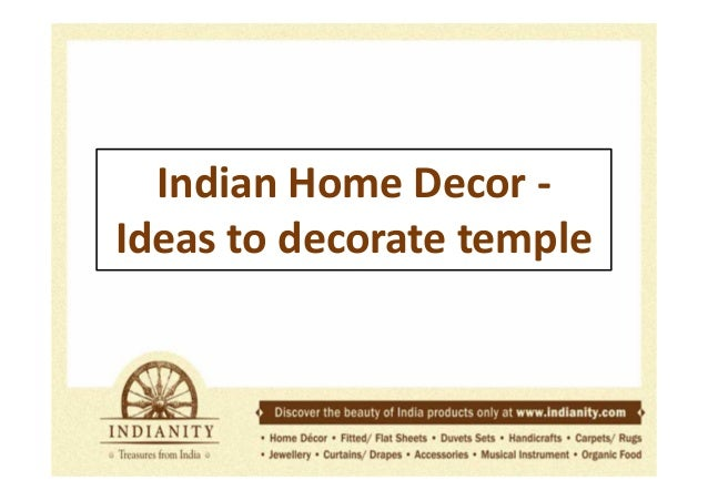 Indian Temple Decor Deities And Items