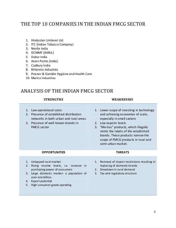 fmcg company lke dabur amul analysis In india, fmcg companies have privilege of having easy availability of raw  materials,  major players in food segment are hul, amul, dabur  nestle, itc  and.