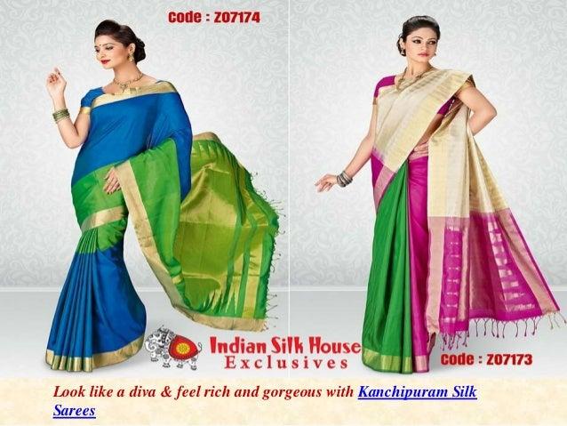 601ac25aa2aab8 Indian traditional designer silk sarees kanjivaram silk sarees