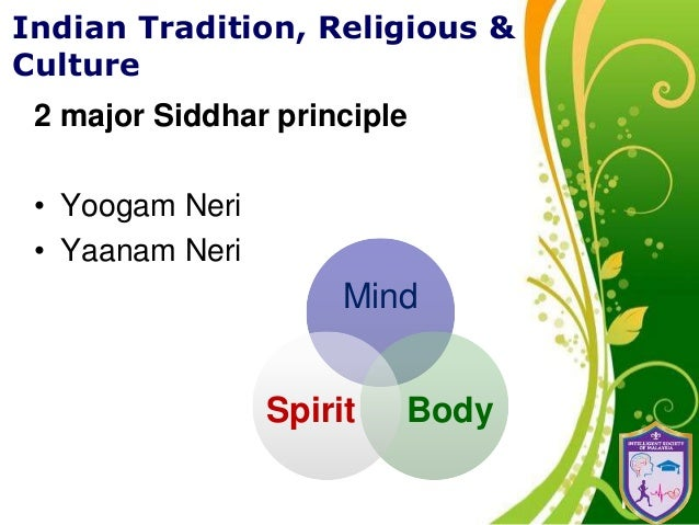 Scientific indian tradition religion and culture 4 click here to download this powerpoint template toneelgroepblik Images
