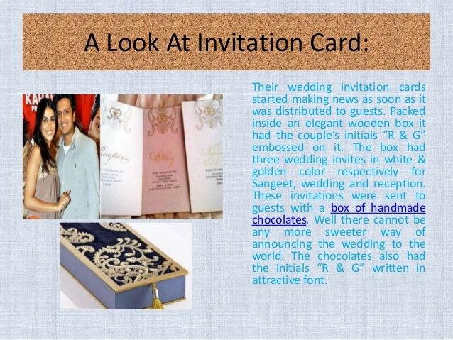 Indian wedding cards a look at the wedding invitation card of bolly riteish genelia wedding collections 4 a look at invitation card stopboris Images