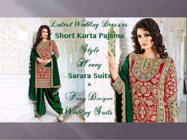 indian wedding dresses latest designer wedding suits short kurta p