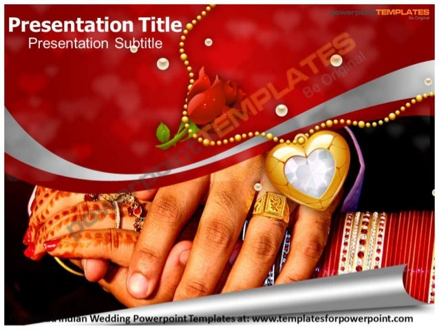 Indian Wedding Powerpoint Templates Templates For Powerpoint