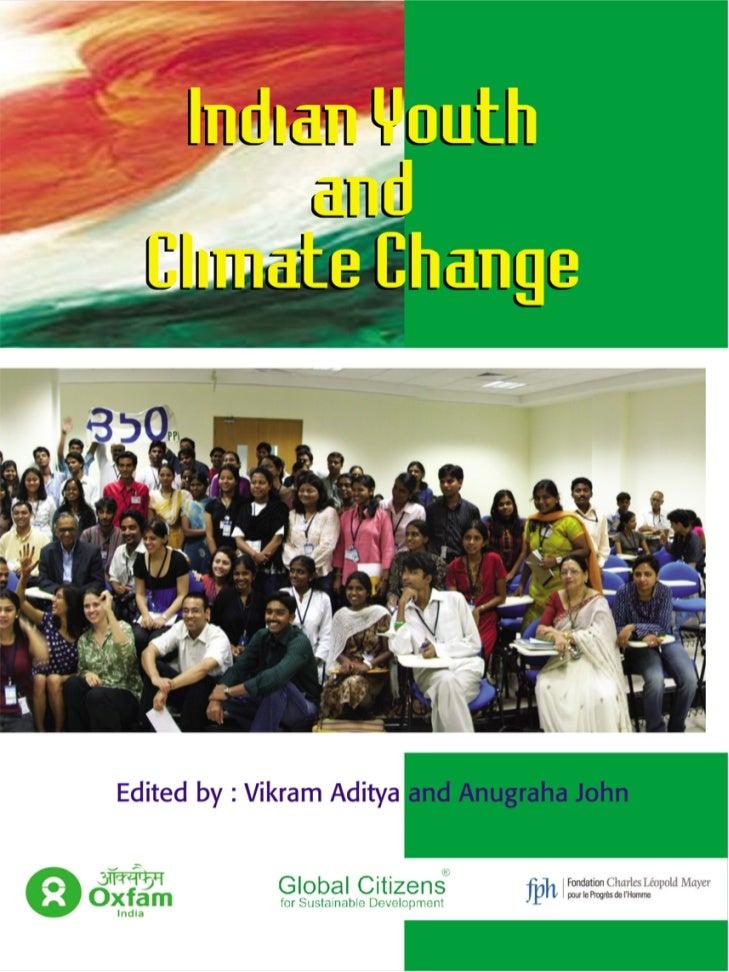 Indian Youth      andClimate Change            Edited byVikram Aditya and Anugraha John