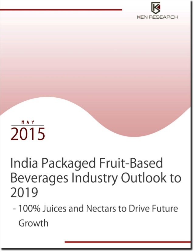 Market research report on packaged fruit