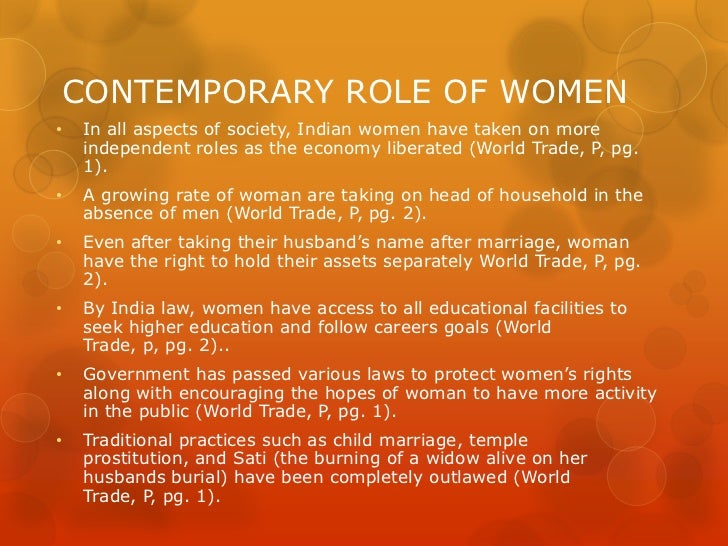 role of women in indian economy Model essay: role of women in socio-economic growth now let us see how a model essay looks like role of women in socio-economic growth of india cannot be undermined.