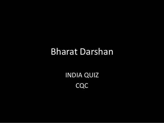 Bharat Darshan INDIA QUIZ CQC
