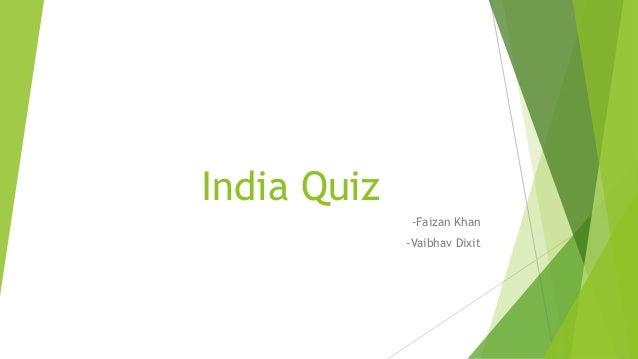 India Quiz Finals Questionsanswers Iit Bhu Quiz Club