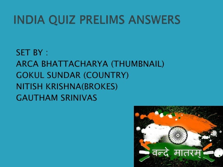 SET BY :<br />ARCA BHATTACHARYA (THUMBNAIL)<br />GOKUL SUNDAR (COUNTRY)<br />NITISH KRISHNA(BROKES)<br />GAUTHAM SRINIVAS<...