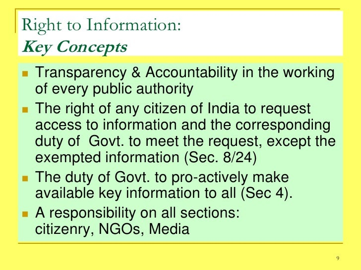 essay on rti act This article covers some of the areas like importance of the act, process for filing  an rti under the act, exceptions in filing an rti as well as.