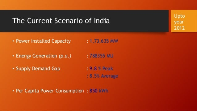 indias energy scenario Key issues impacting the indian oil and gas sector 2  pertaining to energy security in india with to the  reviews the current scenario of rising energy.
