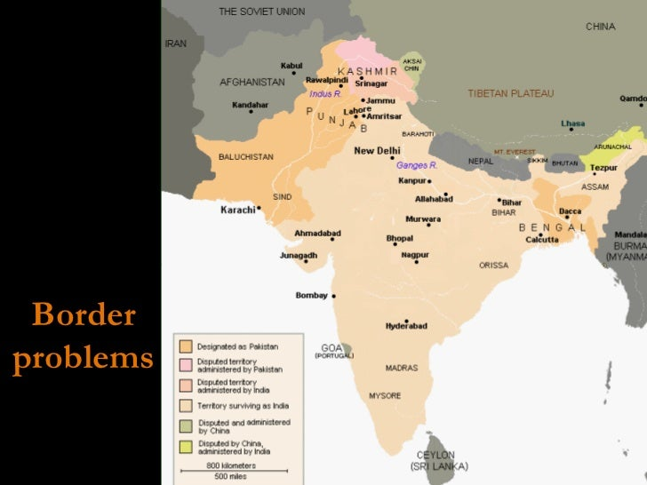 Border problems