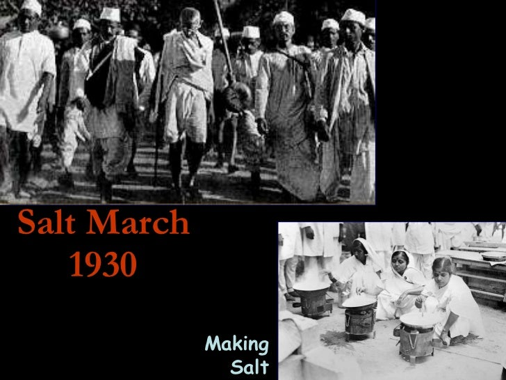 Salt March 1930 Making Salt