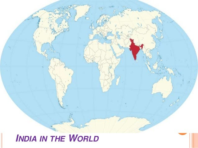 5. INDIA IN THE WORLD ...