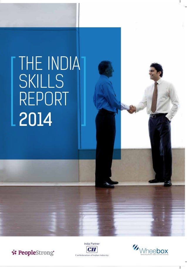 THE INDIA SKILLS REPORT 2014