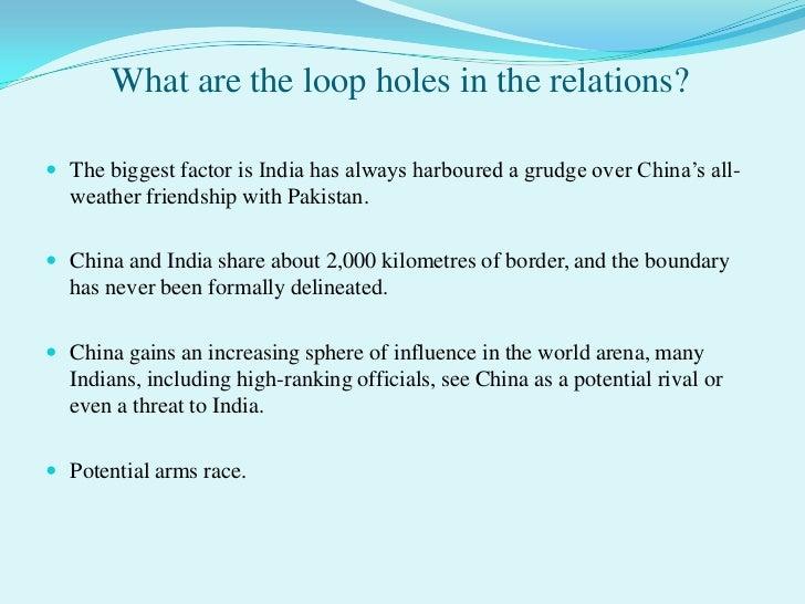 Essay on indo sino relationship