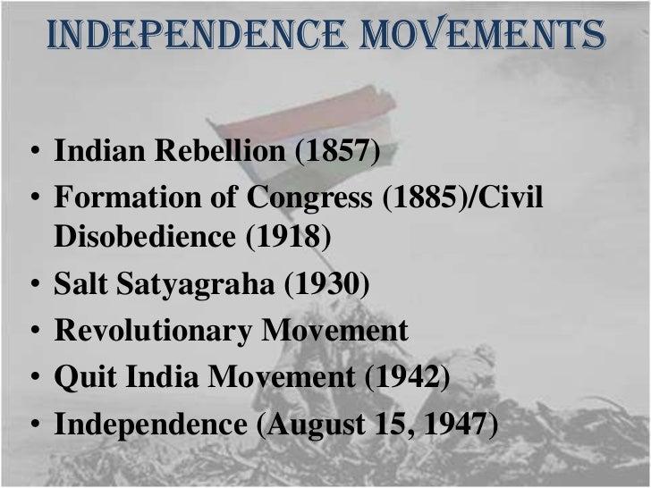 Indian national movement 1857 1947 |authorstream.