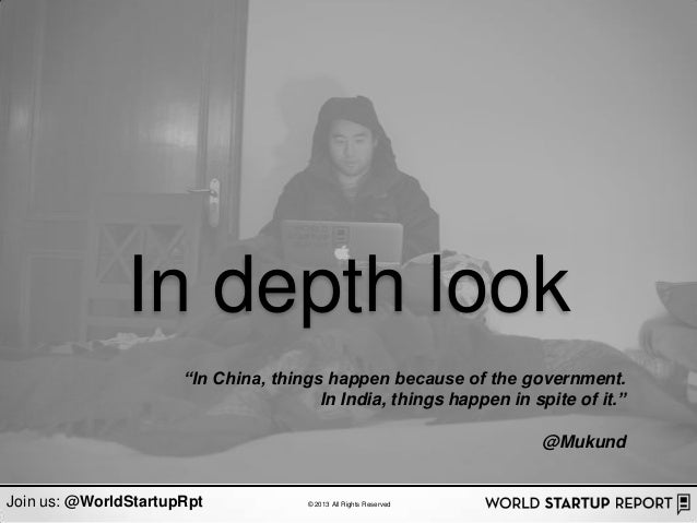 """In depth look                      """"In China, things happen because of the government.                                    ..."""