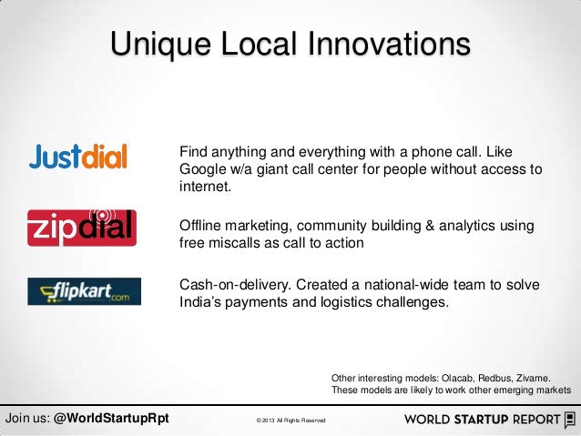 Unique Local Innovations                            Find anything and everything with a phone call. Like                  ...
