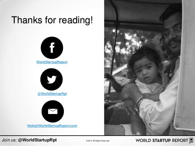 Thanks for reading!                WorldStartupReport                @WorldStartupRpt           Hello@WorldStartupReport.c...